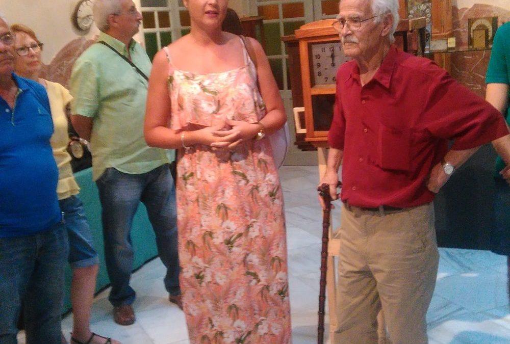 Inaugurada la exposición de Relojes de Carmelo Rubio en el Palacete Modernista