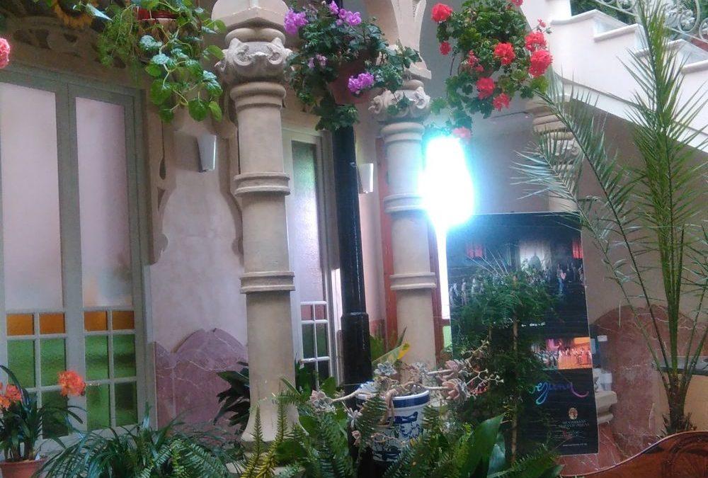 El Palacete Modernista de Fuente Obejuna se viste de Mayo