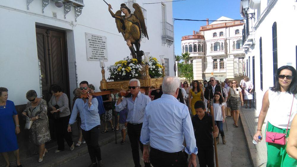 Celebración de la Fiesta de San Miguel 2016 en Fuente Obejuna