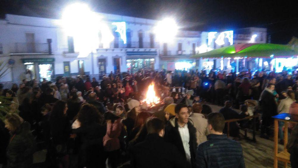 Una gran fiesta de la Navidad se celebra en la Plaza Lope de Vega de Fuente Obejuna 1
