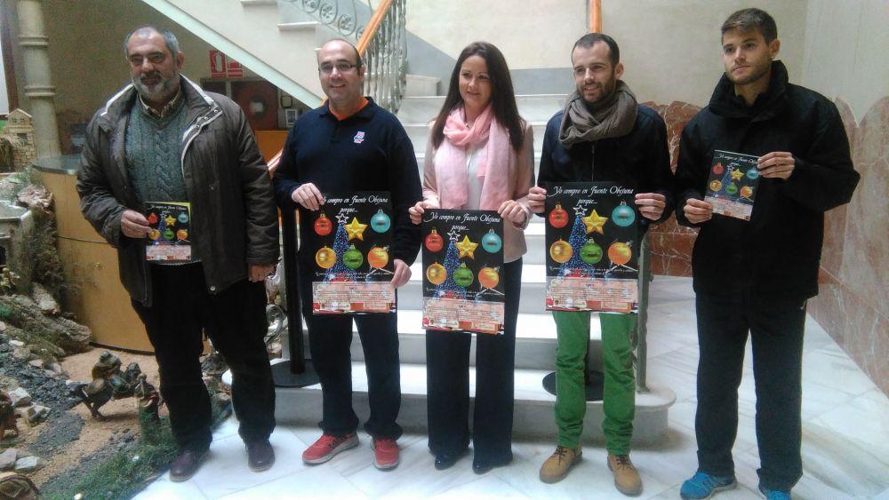 """Presentado en el Palacete el cartel y la campaña de Navidad """"Yo compro en Fuente Obejuna"""" que organiza el Ayuntamiento melllariense 1"""