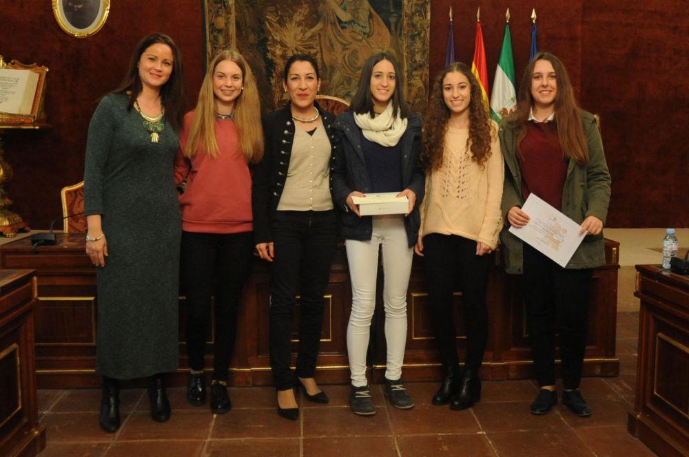 Alumnos del IES Lope de Vega de Fuente Obejuna galardonados por la Diputación en el concurso de vídeos de medio ambiente 1