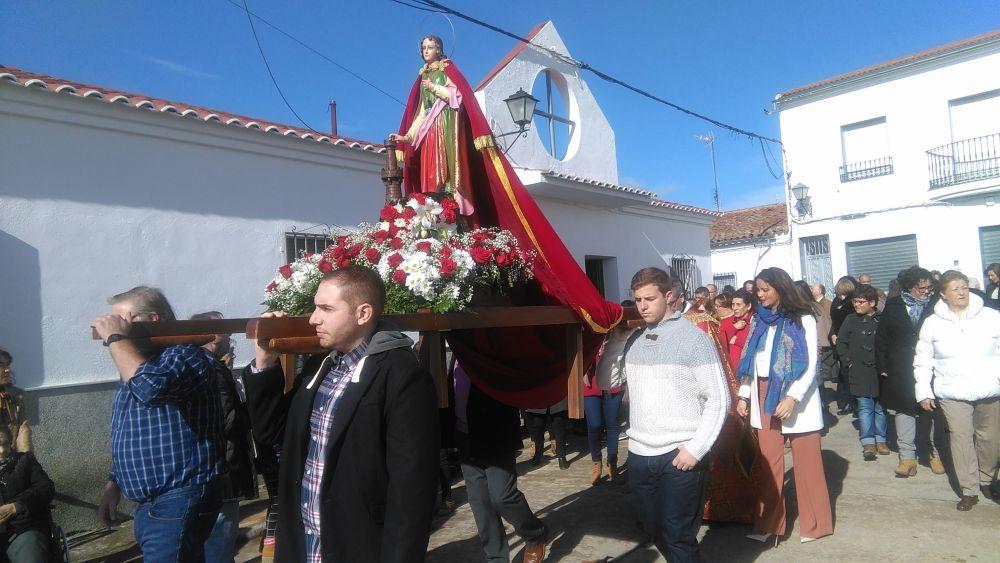 Paso procesional del Santa Bárbara