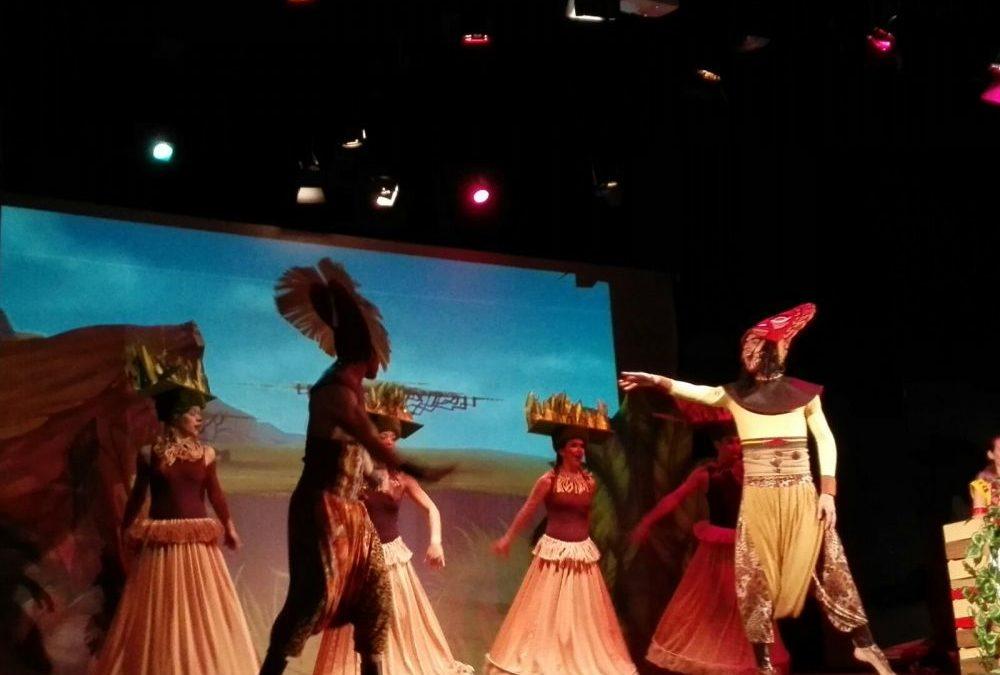 Escena representada en la obra