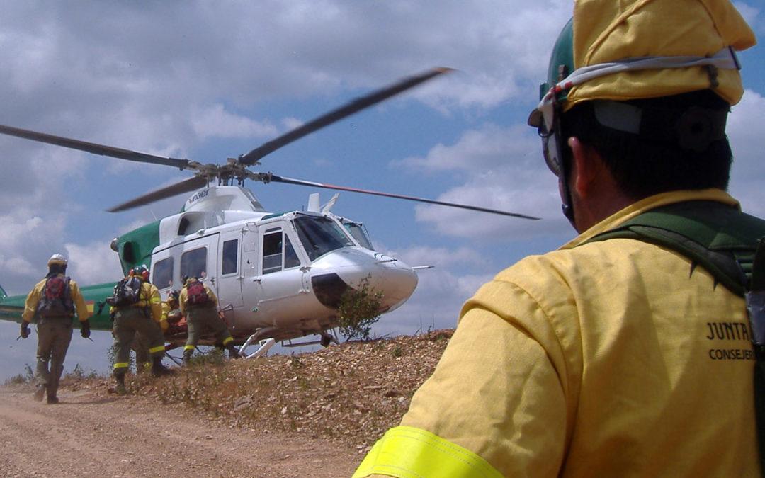 helicoptero infoca