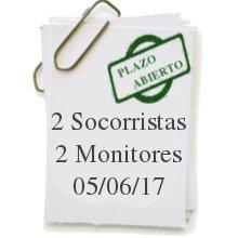 Bando socorristas y monitores