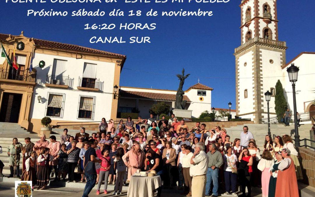 """""""Este es mi pueblo"""" de Canal Sur Televisión grabó en Fuente Obejuna un programa que se emitirá el próximo sábado 18 de Noviembre 1"""