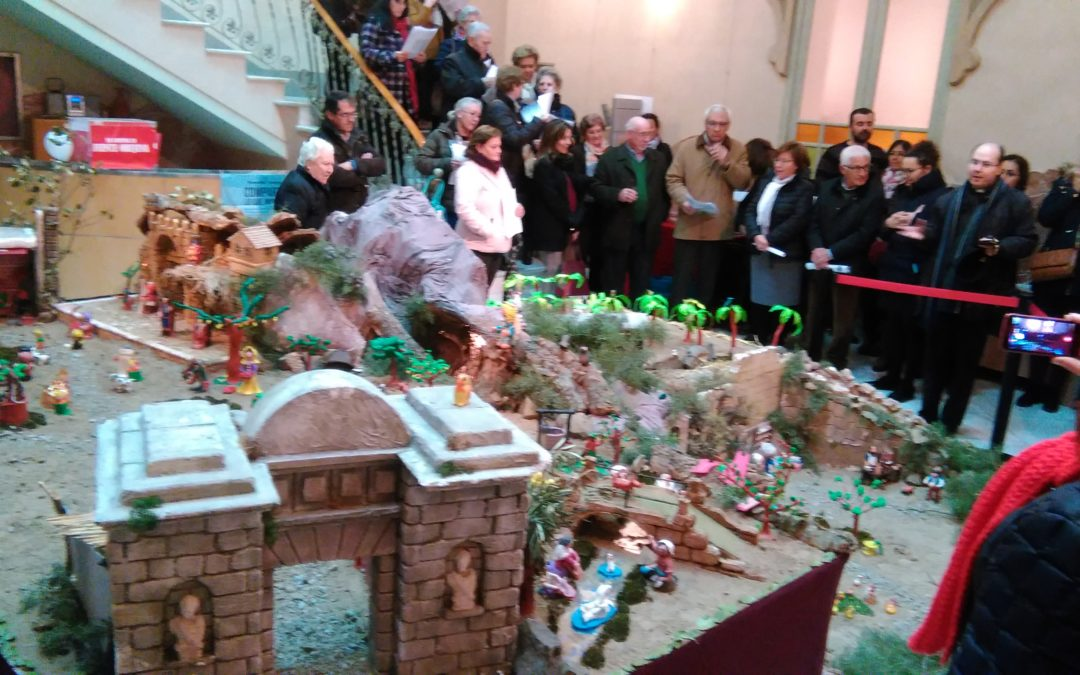 Inauguración de los Belenes instalados en Fuente Obejuna esta Navidad 1