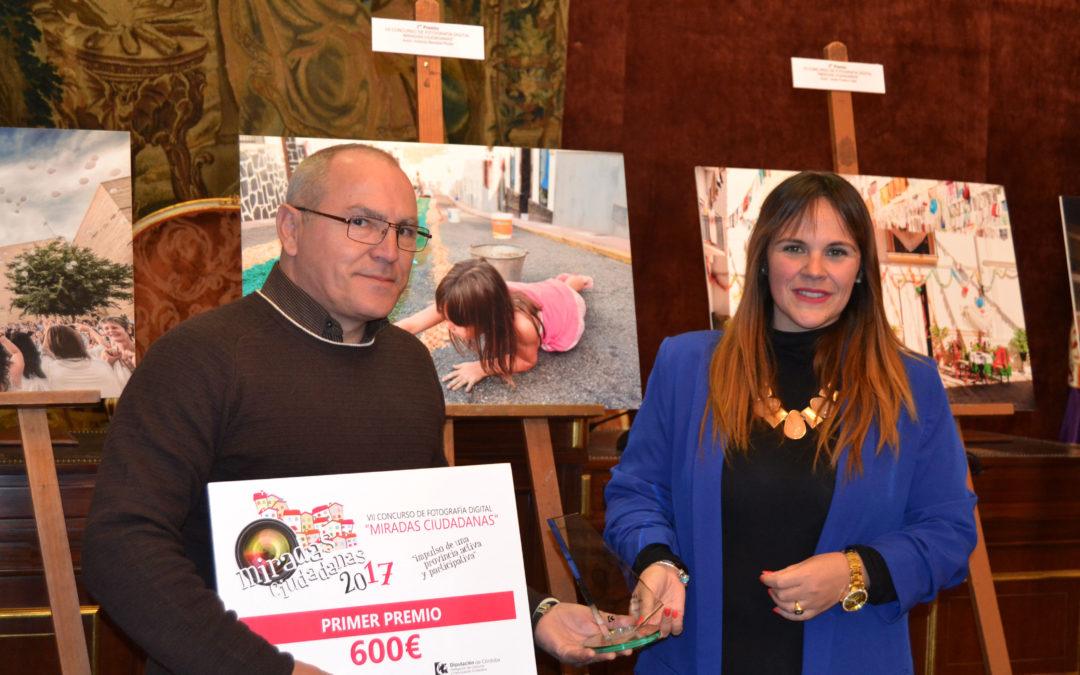 La Diputación reconoce las mejores imágenes sobre participación con el premio 'Miradas Ciudadanas' 2