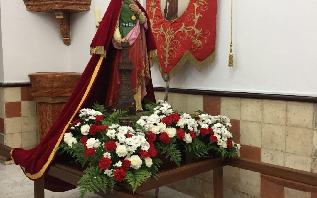 Se celebró un año más la tradicional Fiesta de Santa Bárbara, Patrona de los Mineros, en El Porvenir. 1