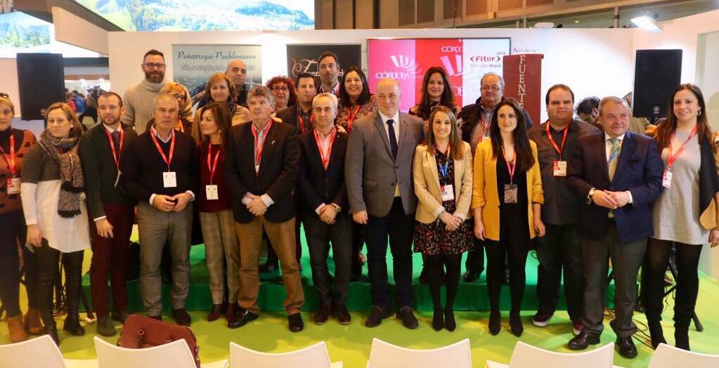 """La delegada del Gobierno destaca que FITUR ha posibilitado """"abrir la ventana de Córdoba al mundo para seguir creciendo en el sector turístico"""" 1"""
