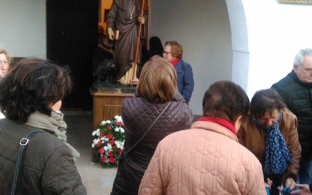Bendición de animales 2018 en Fuente Obejuna para conmemorar la festividad de San Antón 1