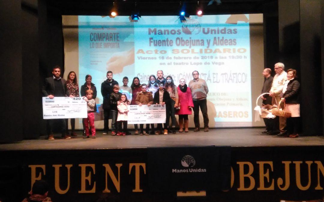 Fuente Obejuna celebra la Fiesta de la Solidaridad 2018 de Manos Unidas en el Teatro Municipal  1