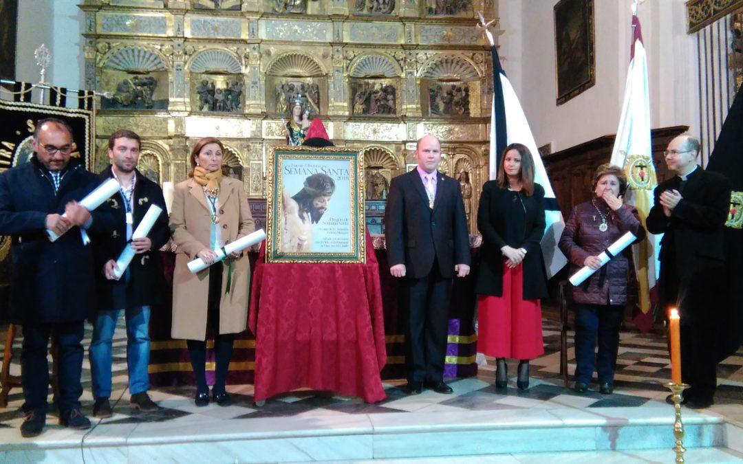 Presentado el cartel de Semana Santa 2018 en Fuente Obejuna con la imagen del Cristo de Gracia 1