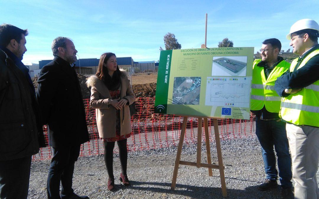 La Junta invierte 294.639 euros en el nuevo punto limpio de recogida de residuos de Fuente Obejuna 1