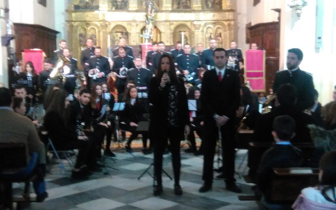 Concierto de marchas de Semana Santa en la Iglesia Parroquial Ntra. Sra. Del Castillo de Fuente Obejuna 1
