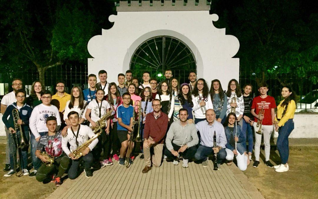 La Banda Municipal de Música de Fuente Obejuna participará en el 30 Certamen de Bandas de Música de Andalucía que se celebrará en Chauchina (Granada) 1