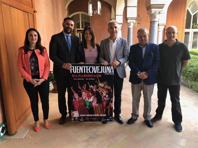 La Junta respalda una nueva edición de la representación teatral popular del clásico 'Fuenteovejuna' de Lope de Vega  1