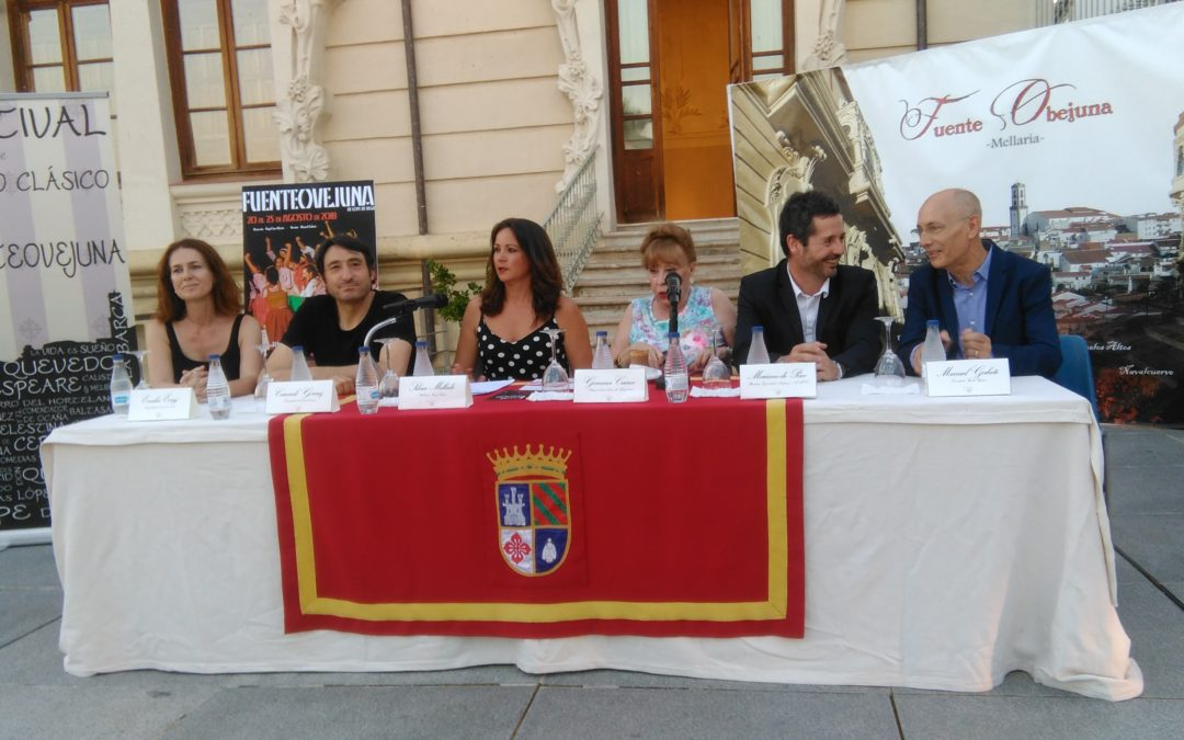 Gemma Cuervo inauguró el tercer Festival de Teatro Clásico Fuenteovejuna 1