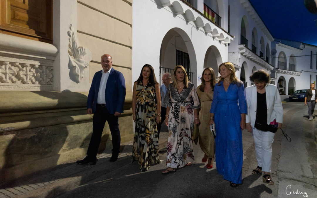 Susana Díaz asiste a la representación teatral vecinal de 'Fuenteovejuna' en Fuente Obejuna (Córdoba) 1