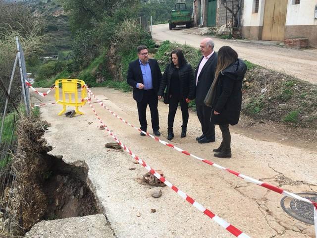 La Junta incorpora 18 municipios de Córdoba, Málaga, Sevilla y Granada, entre los que se incluye Fuente Obejuna, a las obras urgentes en caminos rurales 1