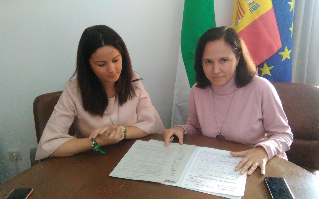 La Delegada de Fomento Josefina Vioque visita Fuente Obejuna y se reúne con la Alcaldesa Silvia Mellado para informar sobre las ayudas al alquiler de la Junta de Andalucía 1