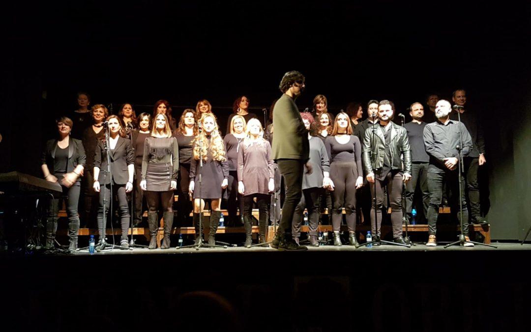 El Coro Góspel Córdoba actúa en Fuente Obejuna y llena el aforo del Teatro Municipal Lope de Vega. 1