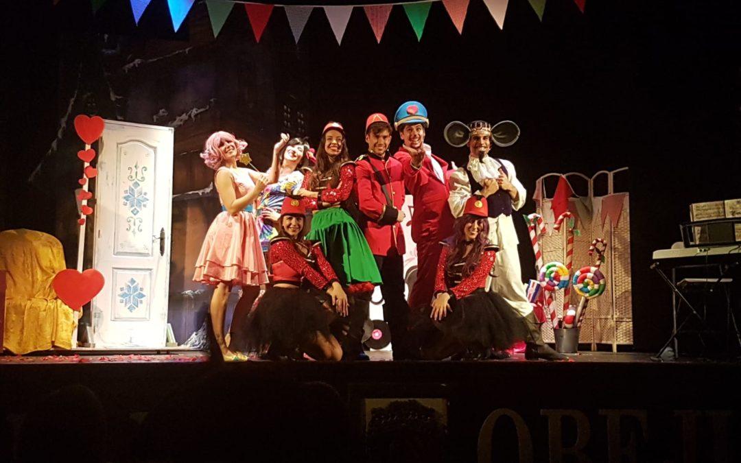 """""""Valle de cuentos"""" estrenó en el Teatro Municipal de Fuente Obejuna su musical """"El Cascanueces"""". 1"""