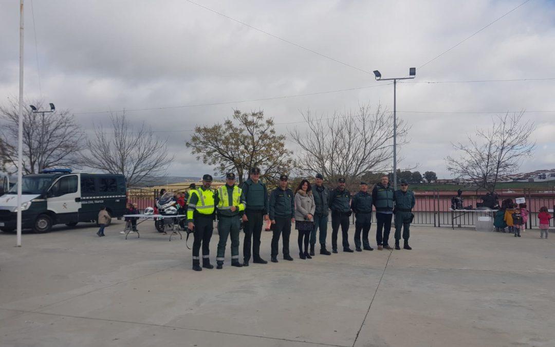 Se celebra una exhibición y demostración policial en Fuente Obejuna 1