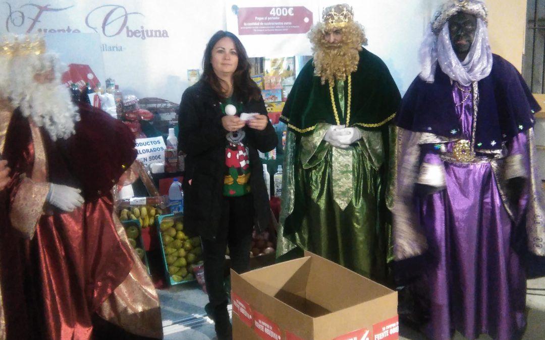 Los Reyes Magos llenan de ilusión Fuente Obejuna y entregan una gran cesta de Navidad valorada en 900 Euros 1