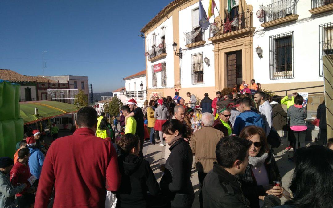 Más de 200 corredores participan en la VI San Silvestre mellariense 1