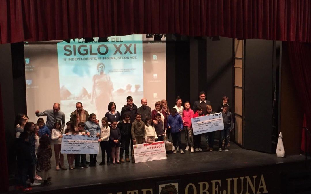 La Fiesta de la Solidaridad llena otro año más el Teatro Municipal Lope de Vega de Fuente Obejuna 1