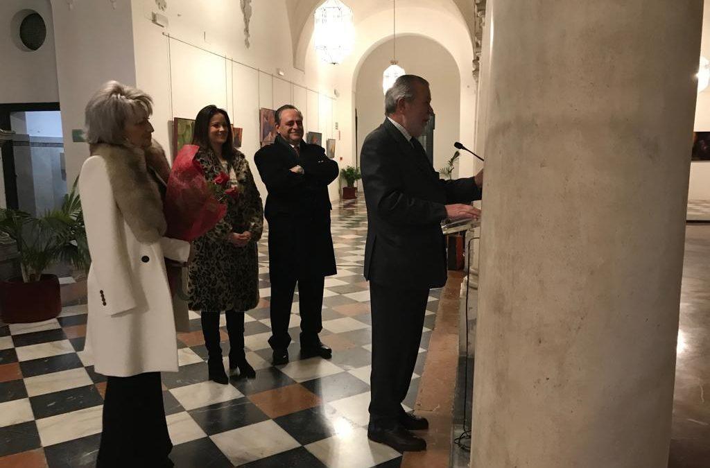 Ana Ortiz exhibe su 'Materia anímica' en el Palacio de la Merced 1