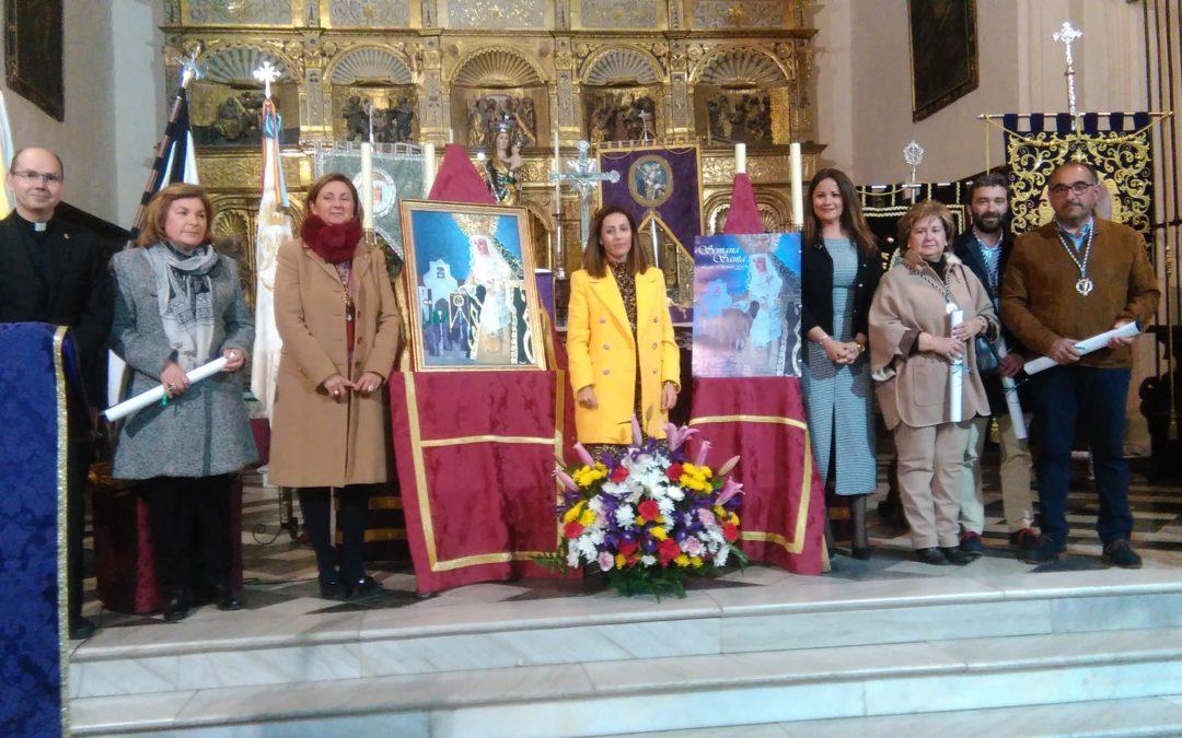 Una obra de Mariazel Valderrábanos es elegida para el cartel de Semana Santa 2019 en Fuente Obejuna 2