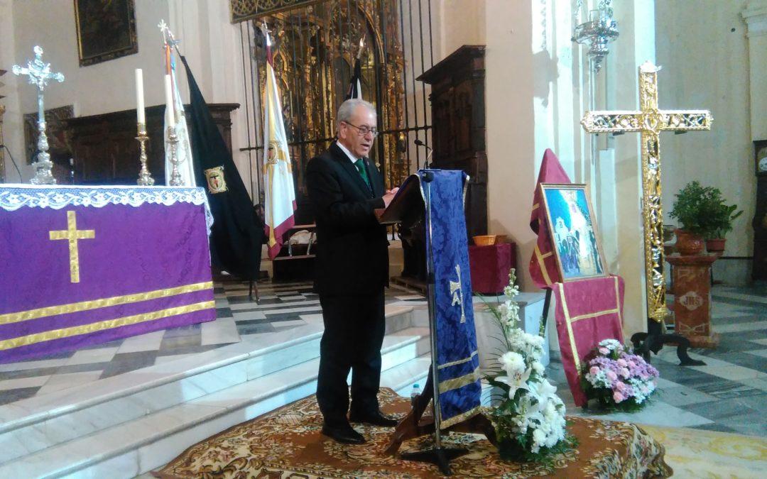 Pedro Valderrábanos León ofreció el Pregón de Semana Santa 2019 en Fuente Obejuna 1