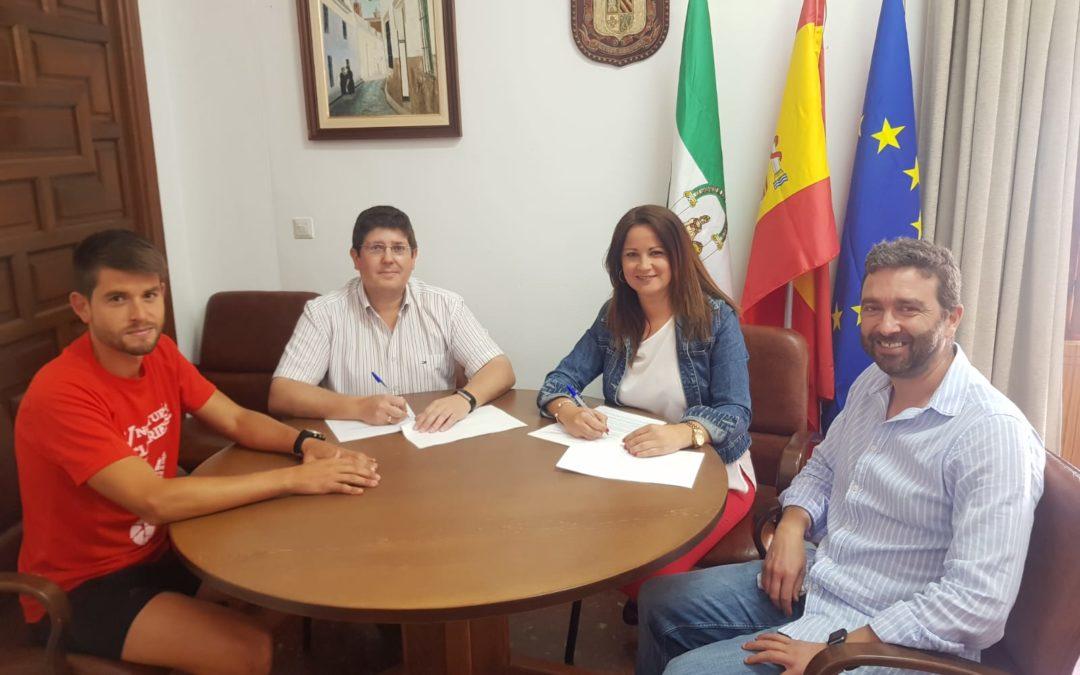 El Ayuntamiento de Fuente Obejuna firma un convenio de colaboración de 7000 Euros con El CD Futbol Base Mellaria 1