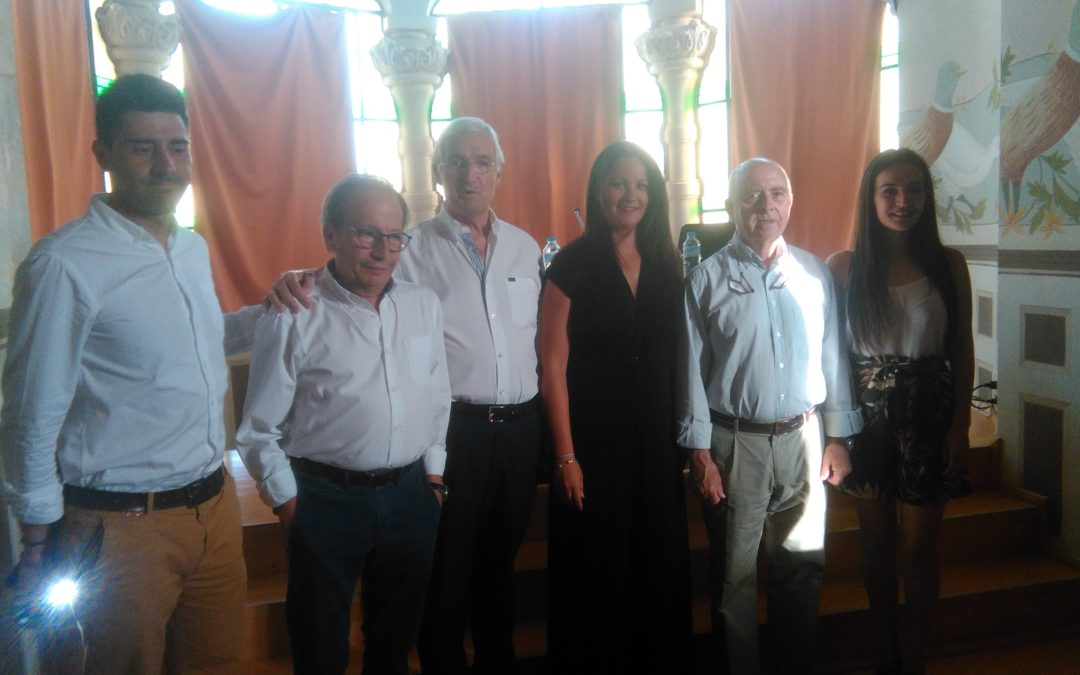 Magistral conferencia sobre Cervantes por Rafael Ortiz Calzadilla en el Palacete Modernista dentro de los actos del IV Festival de Teatro Clásico Fuenteovejuna 1