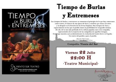 Carteles I Festival Teatro 2016 6