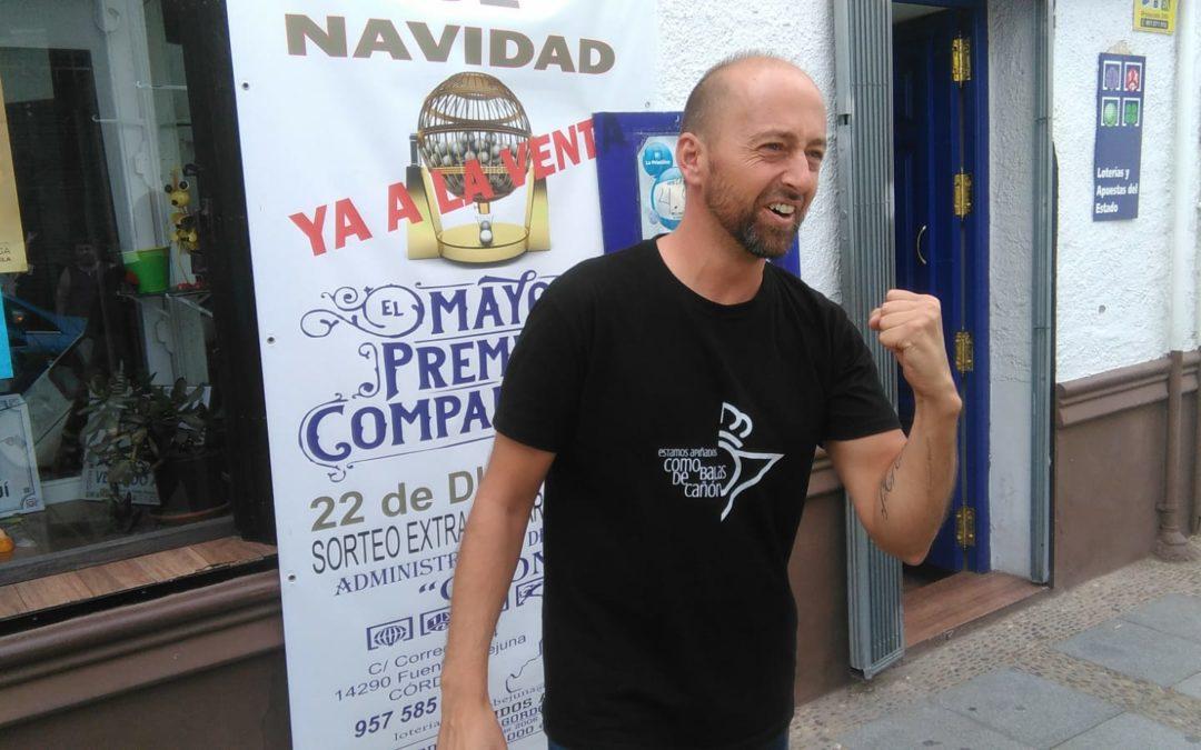 """a administración de Loterías en Fuente Obejuna """"Chon"""" acaba de dar un premio de 600.000 € repartido en 10 abonados  1"""