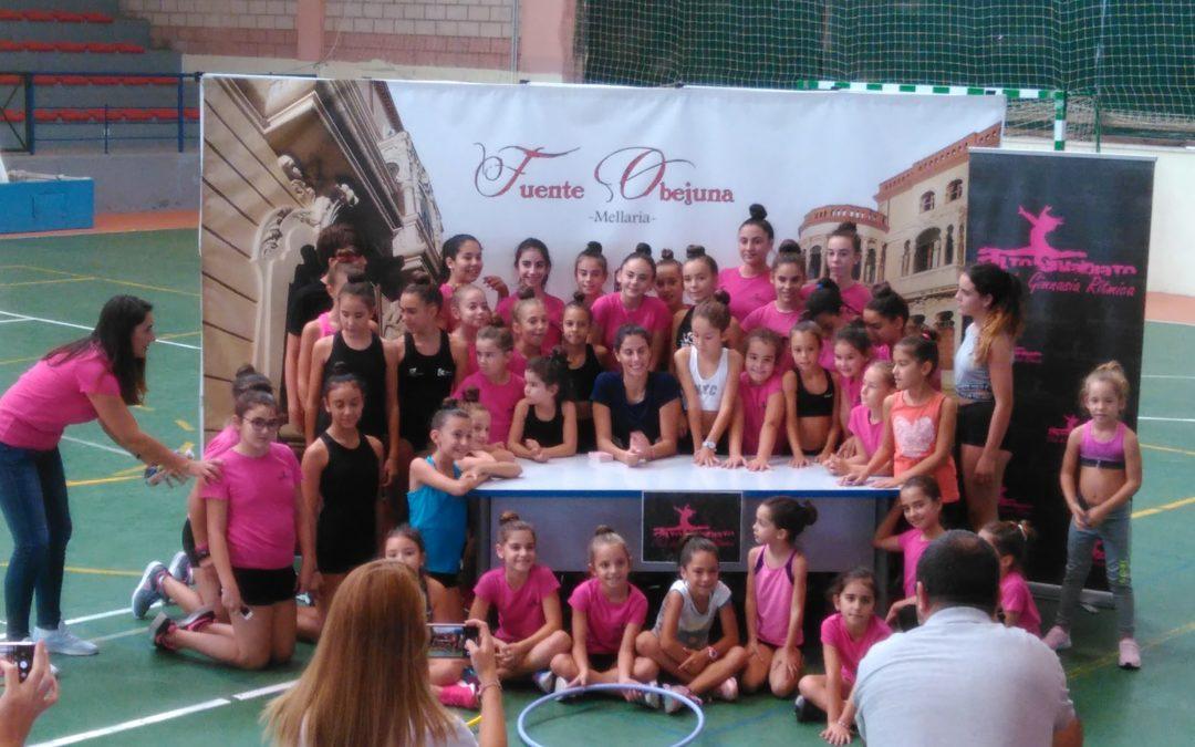 Lourdes Mohedano ofreció su Master Class en el Polideportivo de Fuente Obejuna 2