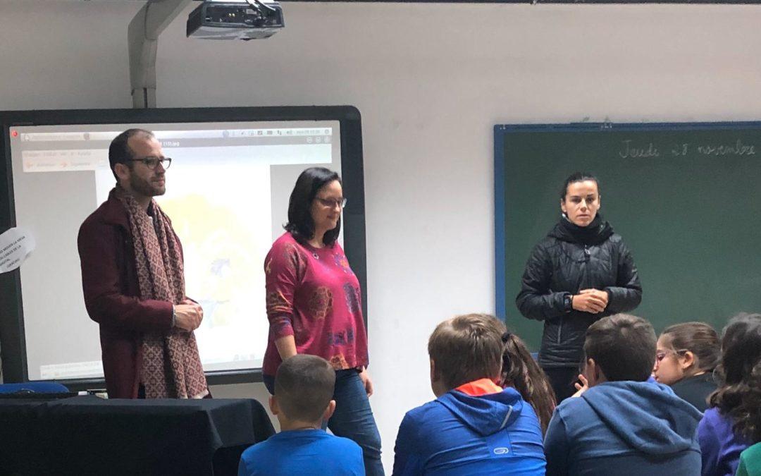 La escritora Ana Belén Ramos visita el Colegio Público San Carlos Borromeo para animar a los jóvenes a la lectura 1