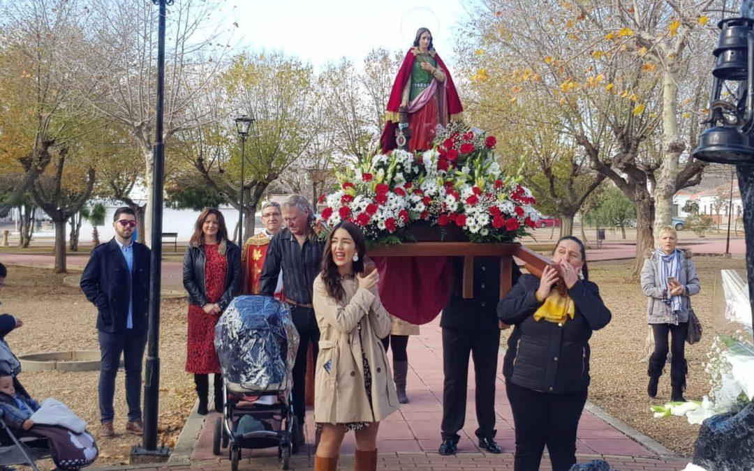 El Porvenir celebra Santa Bárbara, Patrona de los Mineros, en este 2019 1