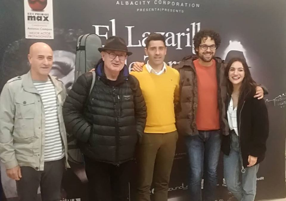 """ALBACITY CORPORATION representó en el Teatro Municipal """"Lope de Vega"""" de Fuente Obejuna la obra """"El Lazarillo de Tormes"""" 1"""