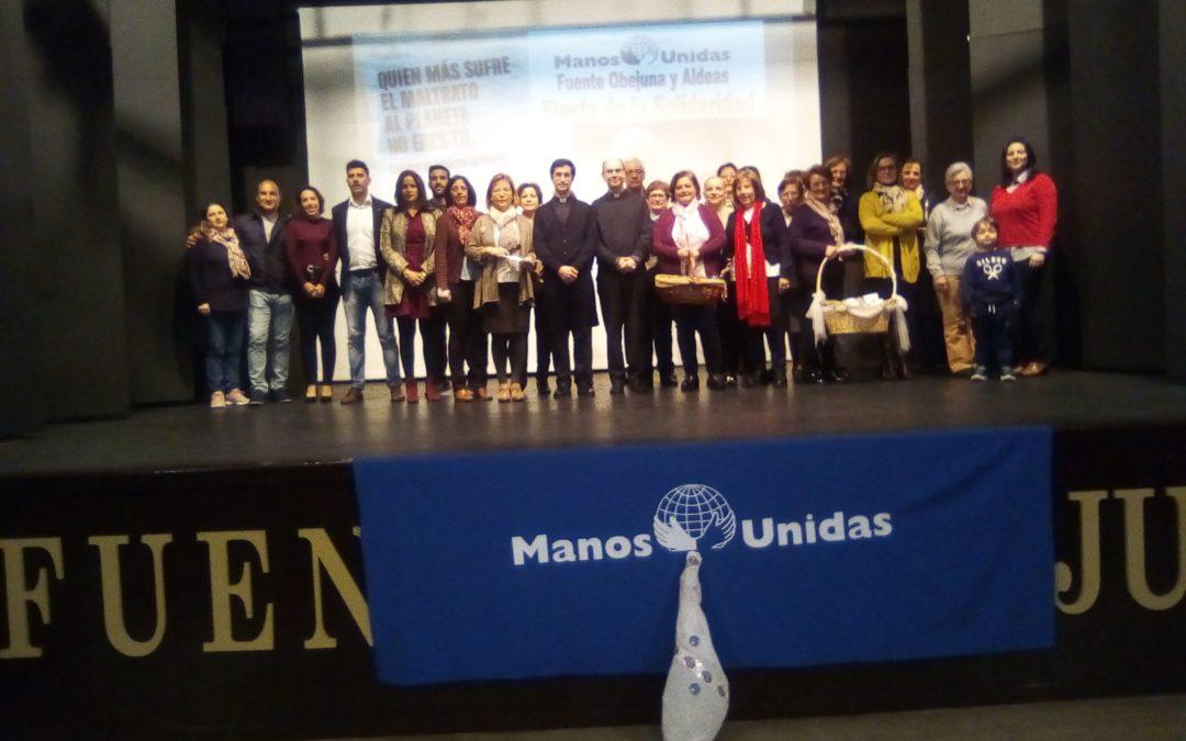 La Fiesta de la Solidaridad 2020 llena otro año más el Teatro Municipal Lope de Vega de Fuente Obejuna para ayudar a los más necesitados 1
