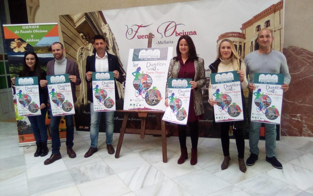 Presentación I Duatlón Villa de Fuente Obejuna y el V Camino de la Encomienda Mellariense. 1