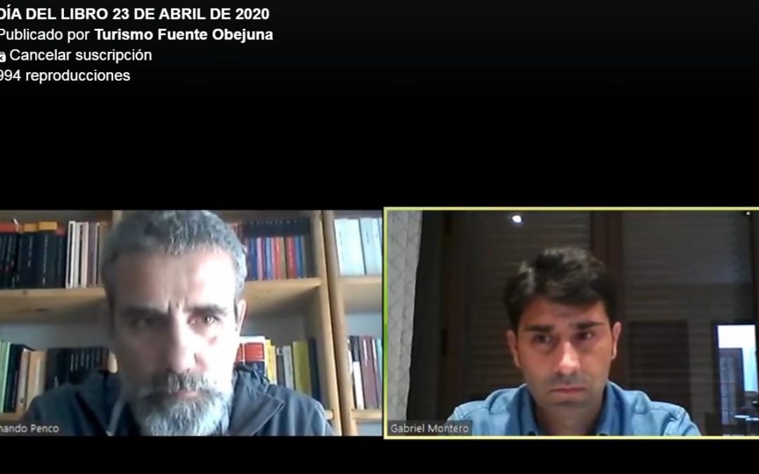 Fuente Obejuna celebra el Día del Libro con una visita virtual a la Biblioteca y una emisión a través de Facebook en la que participa Fernando Penco 1