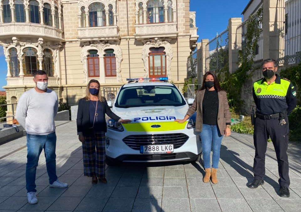 La Policía Local de Fuente Obejuna cuenta con un nuevo vehículo para desarrollar sus funciones.