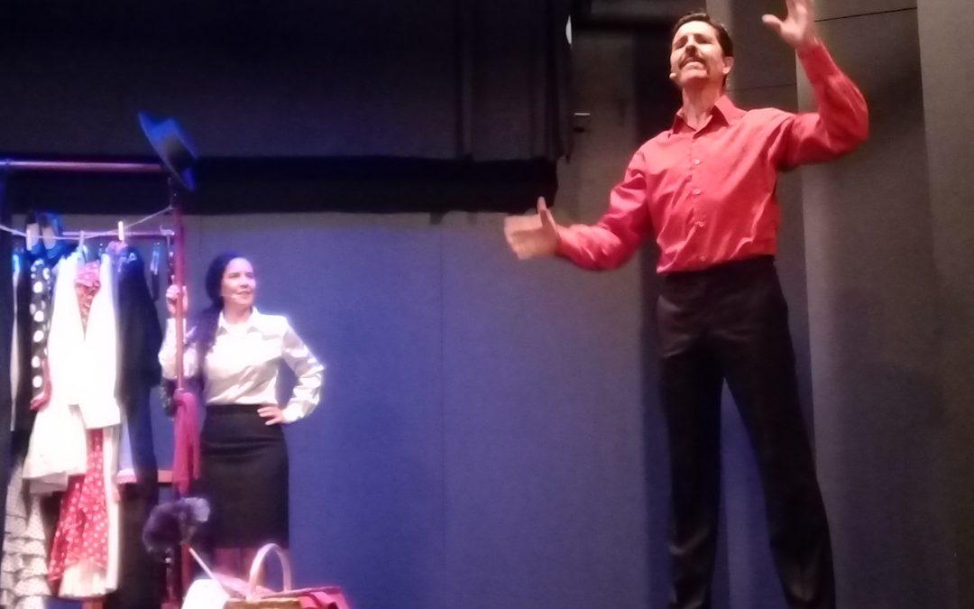 """La Compañía """"La Lumbre"""" representa en Fuente Obejuna la obra de teatro musical """"La mujer en la copla"""""""