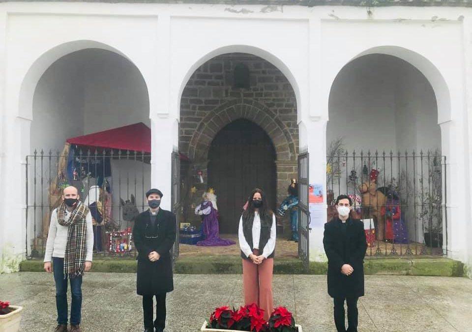 """Silvia Mellado y los Reyes Magos eligen l@s ganador@s de la Campaña """"Yo compro en Fuente Obejuna"""" y llevan la ilusión a los hogares mellarienses."""