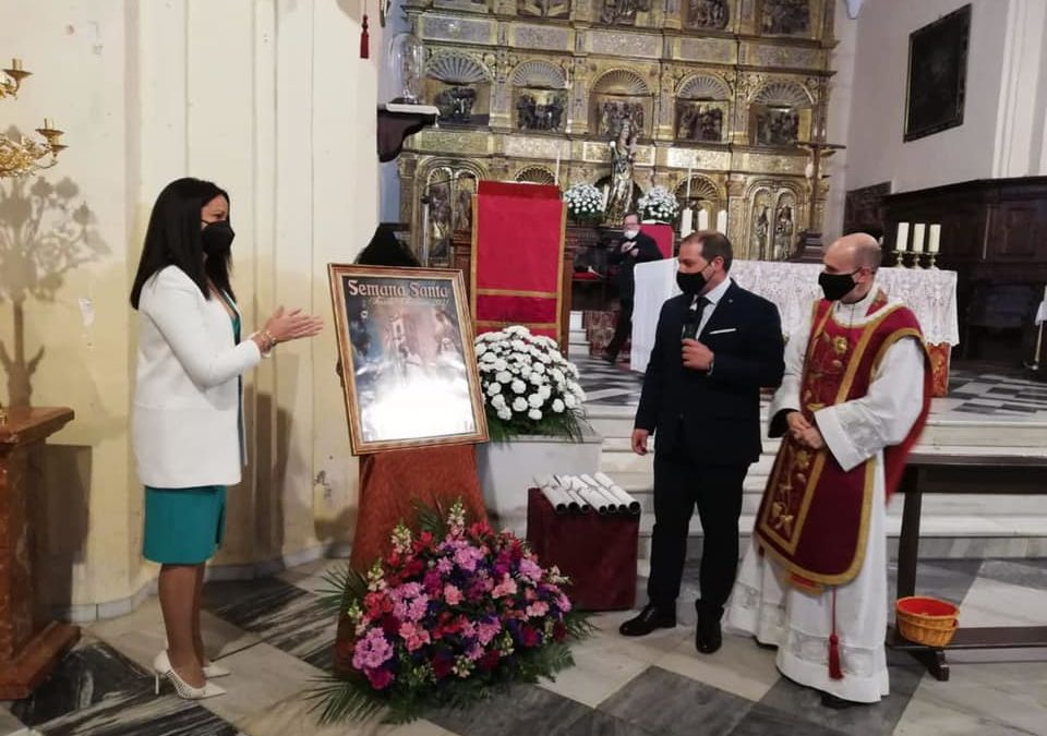 Presentado el Cartel de Semana Santa 2021 en la Iglesia Parroquial de Fuente Obejuna